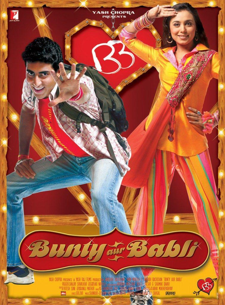 Bunty i Babli filmy bollywood na walentynki