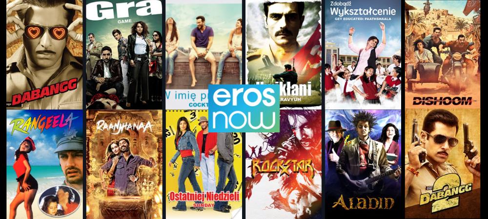 Filmy indyjskie online na Eros Now