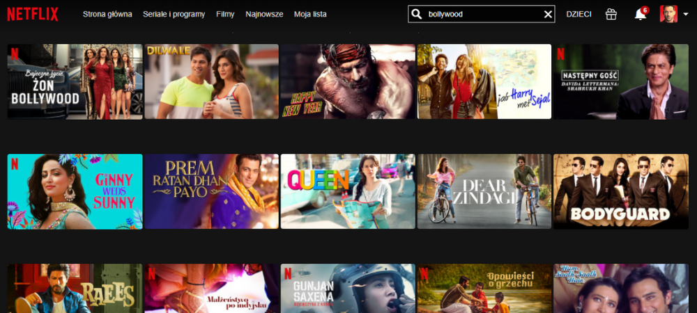 Filmy indyjskie online na Netflix