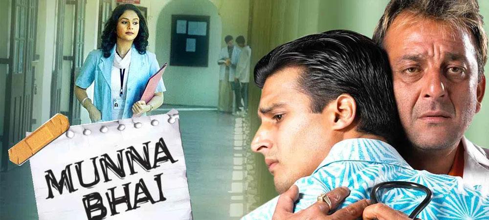 Sanjay Dutt jako Munna bhai