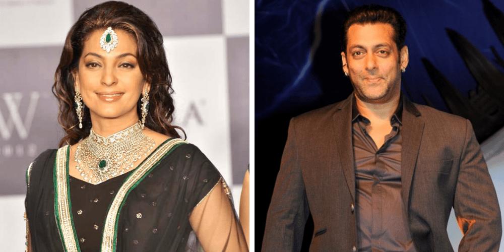 Juhi Chawla i Salman Khan
